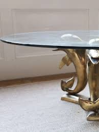 dolphin table with glass top coffee table coffee tables dolphin table glass top with
