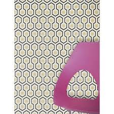 buy cole u0026 son hicks hexagon wallpaper john lewis