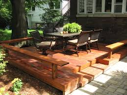 deck ideas for small backyards deck vs patio what is best for you huffpost