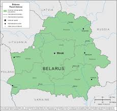 map of belarus smartraveller gov au belarus