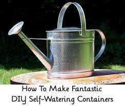 How To Make Self Watering Planters by Diy Self Watering Container Garden Lil Moo Creations