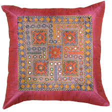 Red Pillows For Sofa by Silk Pink Accent Sofa Mirror Pillow Cover 16