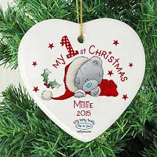 Baby S First Christmas Bauble 2012 Personalise by Baby U0027s First Christmas Bauble Amazon Co Uk