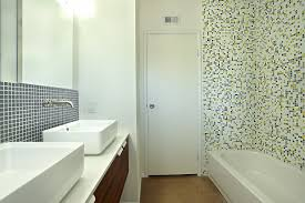 comfortable mid century modern bathroom tile also interior home