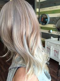 pics of platnium an brown hair styles rose gold silver platinum blonde cut color style by