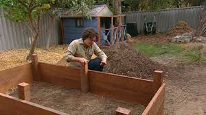 How To Build A Raised Flower Bed Gardening Australia Fact Sheet Building A Vegie Bed