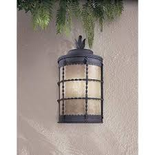 Spanish Style Sconces Minka Lavery Mallorca Spanish Iron Fluorescent Outdoor Wall Sconce