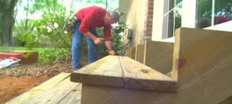 how to build exterior wood steps today u0027s homeowner