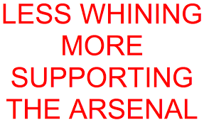 here we are positively arsenal