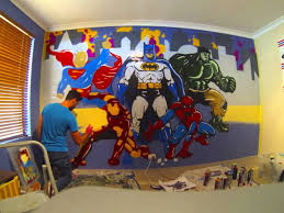 Superman Bedroom Decor by Interesting Toddler Boys Superhero Bedroom Ideas Superman Valance
