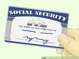 5 ways to get a taxpayer identification number wikihow