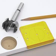 Install European Cabinet Hinges by Cabinet Hardware U0026 Tools 35mm Hinge Installation Kit
