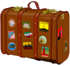 New York travel suitcase images Suitcase clipart svg