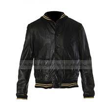 ashton kutcher leather jacket spread film nikki jacket