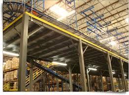 Industrial Mezzanines Warehouse Steel Structures Distribution