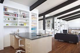 desk in living room