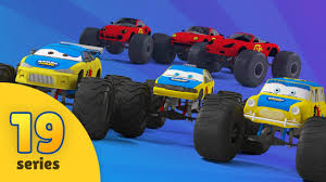 monster trucks racing videos monster truck tuning in monster truck garage racing cars videos