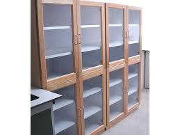 Multimedia Cabinet With Glass Doors Glass Door Cabinets Storage Antiqued Media Storage Bookcase Tower