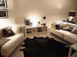Modern Cowhide Rug Living Room Marvelous Cowhide Rug Living Room Design And Grey