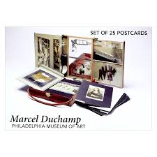 marcel duchamp postcard set the philadelphia museum of art store