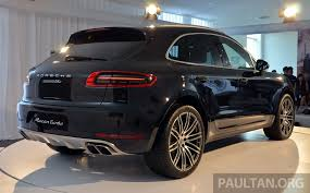 Porsche Macan Modified - question for delivered turbo owners porsche macan forum