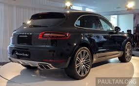 Porsche Macan Dark Blue - question for delivered turbo owners porsche macan forum