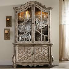 hooker furniture chatelet buffet and hutch with fretwork detail