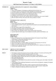 sle resume for digital journalism conferences 2016 web assistant resume sles velvet jobs