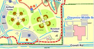 Baseball Map Mitch Park Field 2 Quickscores Com