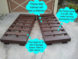 bed frames king size storage bed plans king size bed with