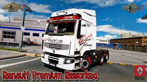 renault truck wallpaper renault premium reworked v3 8 1 27 x download ets 2 mods truck