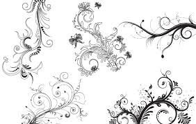free vectors 5 floral decorative ornaments faria malik