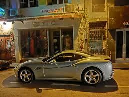 grey ferrari file hk central soho staunton street night grey ferrari racing