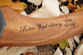 john neeman carving axe robin wood edition