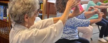 Armchair Yoga For Seniors Osceola Library System Chair Yoga For Seniors