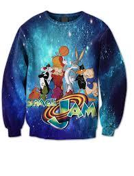 space jam sweater jam crew neck