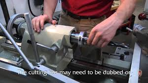 drilling large diameter holes on a lathe youtube