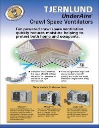 crawl space exhaust fan underaire crawl space ventilation fans dryer boosting fan