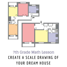 drawing a floor plan to scale 7th grade math lesson on scale drawing create your dream home