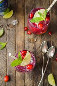 cranberry mojito punch sugar u0026 soul