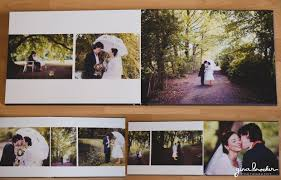 Best Wedding Photo Album New Flush Mount Wedding Album Gina Brocker Photography