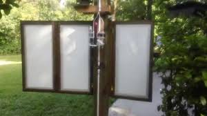 woodwind acres outdoor shower privacy panels intallation youtube