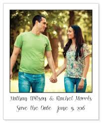 save the date magnets wedding polaroid picture save the date magnet
