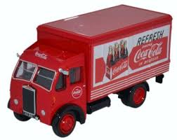coca cola scale models by oxford diecast