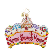 christopher radko ornaments 2015 radko home sweet home ornament