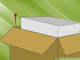 Screws For A Baby Crib by How To Set Up A Baby Crib 9 Steps With Pictures Wikihow