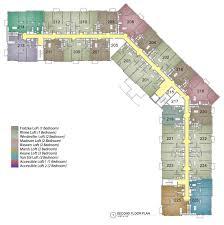 Madison Residences Floor Plan by Community Layout M Lofts Upscale Residences