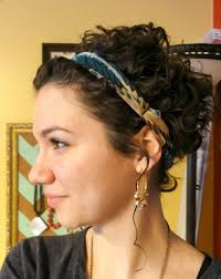 hairstyles that can be worn curly best 25 headband short hair ideas on pinterest headbands for