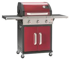cuisine barbecue triton 3 burner gas barbecue bordeaux 12931