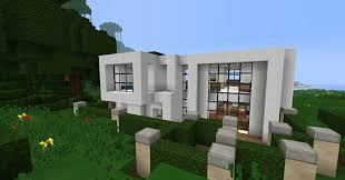 simple modern house 1 minecraft project